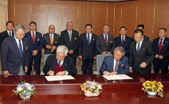 ITF and WT meet to Integrate Taekwon-Do